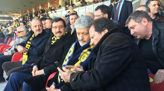 Mustafa Tuna, Ankaragücü Maçında Tezahüratlarla Karşılandı