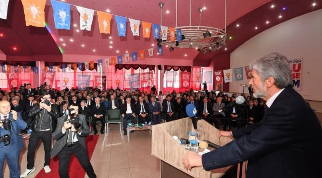 Tuna, Ak Parti Kızılcahamam Kongresi'nde: ''Daha Sık Buluşacağız''