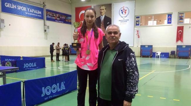 Yenimahalle SK Başarısını Masa Tenisinde De Gösterdi