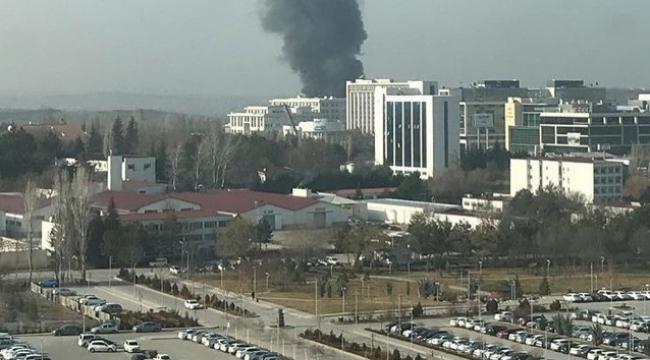 Başkent'te Korkutan Yangın! Kullanılmaz Hale Geldi
