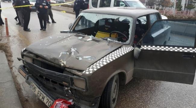 Başkent'te Yaya Geçidinde Aracın Çarptığı Yaşlı Adam Öldü