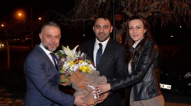 Efsane Güreşçi Yerlikaya Ertürk'ü Ziyaret Etti