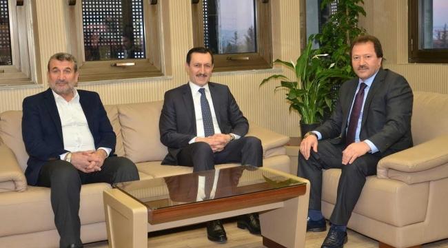 Emrullah İşler'den Mehmet Yiğiner'e Hayırlı Olsun Ziyareti
