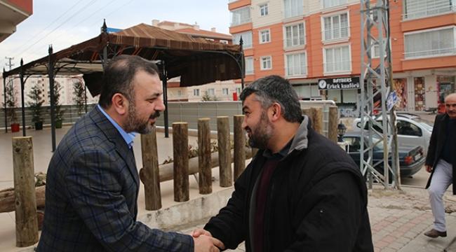 Sincan Belediye Başkanı Murat Ercan: ''işimiz Gücümüz Sincan''