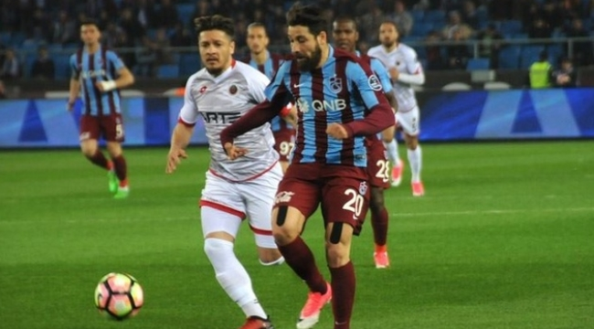 Gençlerbirliği - Trabzonspor Karşılaşmasında Golsüz Beraberlik