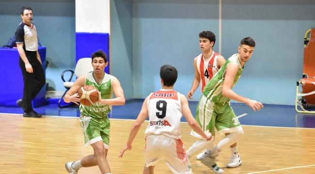 Mamak Belediyesi Genç Basketbol Takımı'nda Başkent Şampiyonluğuna Son 1 Maç