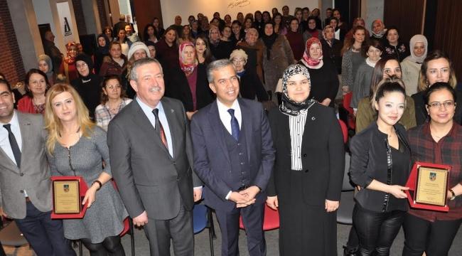 Anadolu OSB Fabrikalarda Çalışan Kadınlarla 8 Mart'ı Kutladı