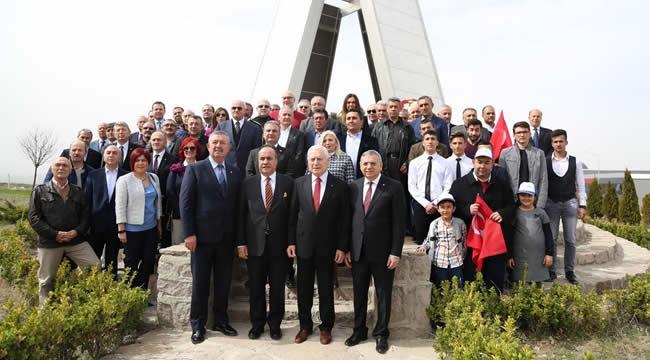 Çanakkale Zaferi Ruhu Anadolu OSB'de Yaşatıldı