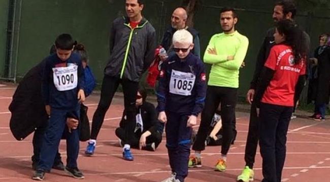 Engelli Sporcular Yenimahalle'de Yarıştı