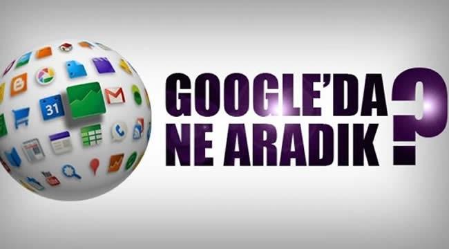 Geçen Hafta Google'da En Çok Aranan Konular Belli Oldu