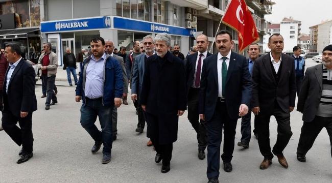Mustafa Tuna İlçe Ziyaretleri Kapsamında Akyurt'ta