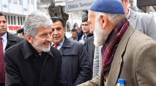 Mustafa Tuna İlçe Ziyaretlerine Devam Ediyor