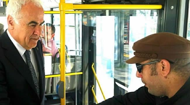 AK Partili Nevzat Ceylan Otobüste Vatandaşları Dinledi