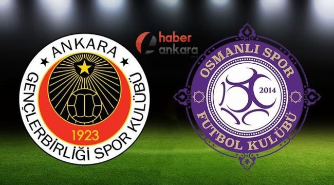Ankara'da Kritik Derbi! Gençlerbirliği ile Osmanlıspor Maçı Saat Kaçta? Hangi Kanalda?