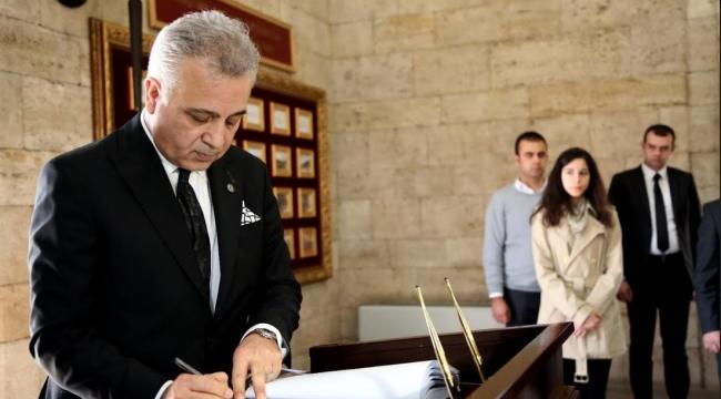 Avukatlardan Anıtkabir'e Çıkarma