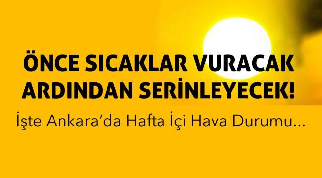 Meteoroloji'den Açıklama! Önce Yaz Sonra Bahar Havası! İşte Ankara'da Hava Durumu...