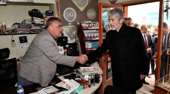 Mustafa Tuna İlçe Ziyaretleri Kapsamında Kahramankazan'da
