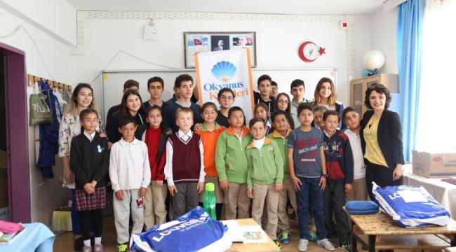 Okyanus Koleji Öğrencilerinden Örnek Proje ''23 Nisan Kutlu, Çocuklar Mutlu Olsun''