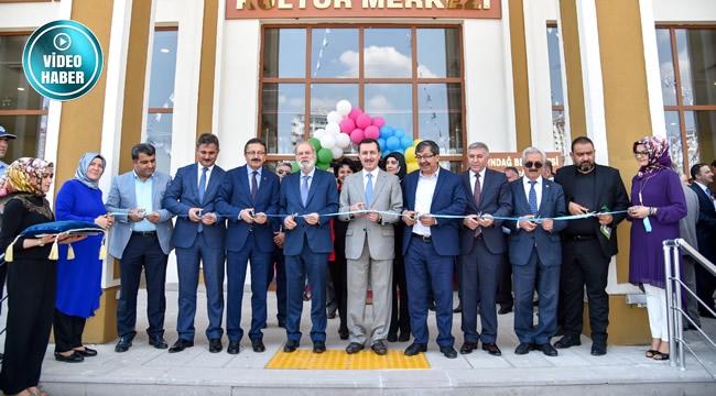 Altındağ'da 29 Ekim Şair Baki Kültür Merkezi Açıldı