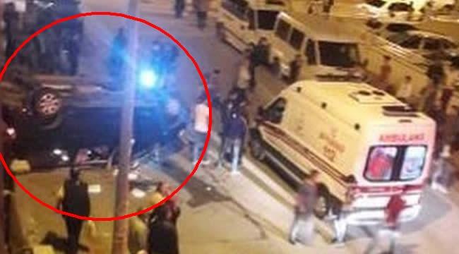 Ankara'da Korkutan Kaza! Takla Atan Otomobil Sürücüsü Yaralandı