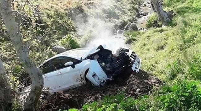 Ankara Yolu'nda Feci Kaza! Otomobil Dereye Uçtu: 1 Ölü
