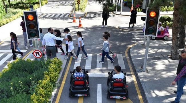Başkentli Minikler Trafik Eğitiminde