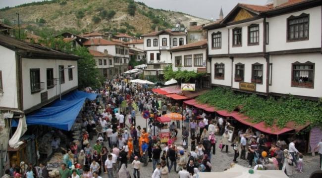 Beypazarı'nda Bayram Tatili Yoğunluğu