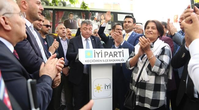 İYİ Parti Etlik Bölge Temsilciliği Açıldı