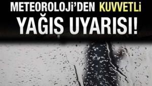 METEOROLOJİ'DEN KUVVETLİ YAĞIŞ UYARISI! Su Baskını, Yıldırım, Dolu Yağışı... İşte Ankara'da Hava Durumu