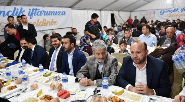 Mustafa Tuna İftar Çadırında Oruç Açtı