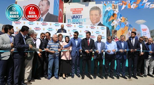 AK Parti Ankara 3. Bölge Milletvekili Adayı Aydın'dan Görkemli Açılış
