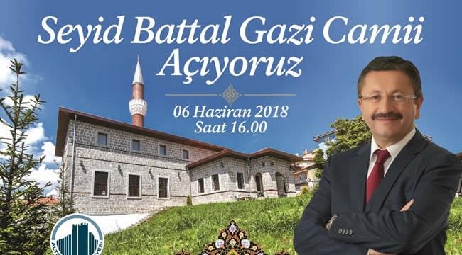 Altındağ Seyid Battal Gazi Cami'sine Kavuşuyor