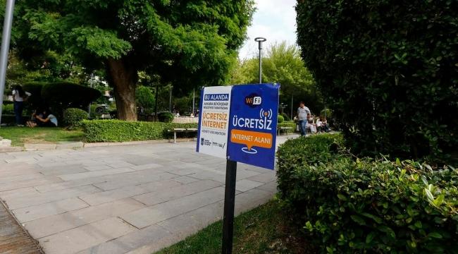 Ankara'da 19 Noktada Ücretsiz Wi-fi Hizmeti! İşte O Bölgeler...