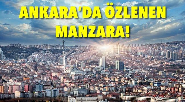 ANKARA'DA ÖZLENEN MANZARA! Bol Güneş, Sıcak Hava... İşte Ankara'da Hafta Sonu Hava Durumu