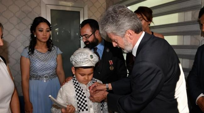 Ankaralı Şehit Okan Taşan'ın Emanetine Sünnet Düğünü