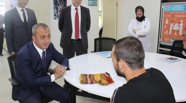 Fatih Çetinkaya'dan AMATEM'e Ziyaret