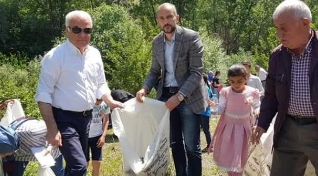 Ceylan Dünya Çevre Gününde Mamak Kıbrıs Kanyonu'ndaydı