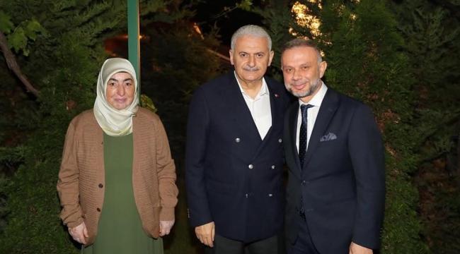 Ertürk'ten Başbakan Yıldırım'a Sahurda Ziyaret