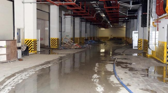 İvedik Organize Sanayi Şiddetli Yağış Mağduru