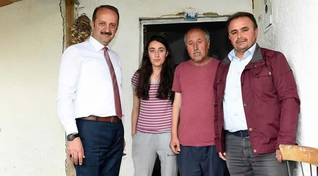 Mesut Akgül'den Çat Kapı Ev Ziyaretleri