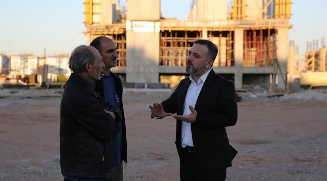 Murat Ercan Sincan'da Belediye Çalışmalarını Denetledi