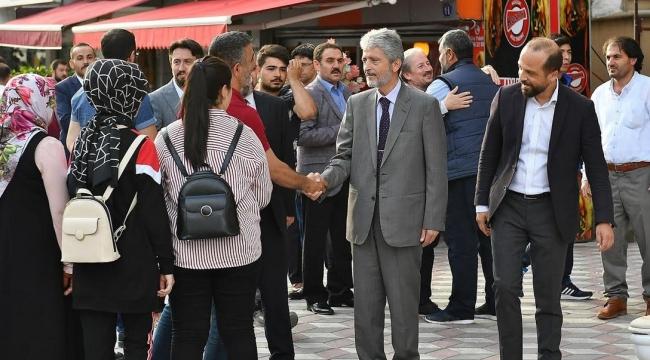 Mustafa Tuna'dan İlçe İlçe Bayramlaşma Mesaisi