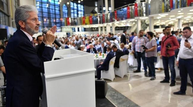 Mustafa Tuna İftarda Şoför Esnafıyla Bir Araya Geldi
