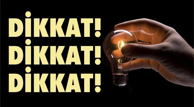 SALI GÜNÜ BÜYÜK KESİNTİ! Ankara'da 14 İlçe Karanlıkta Kalacak