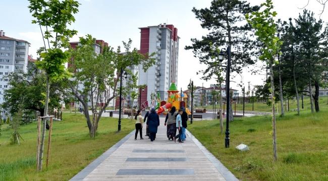 Altındağ'da Dev Park... Kudüs Parkı Açıldı