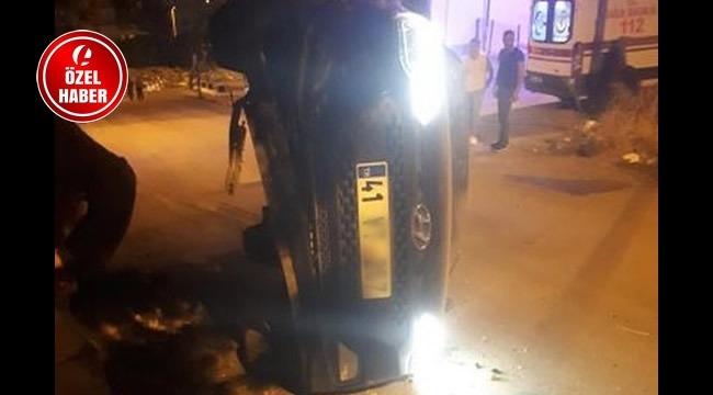 Ankara'da Kaza! Direksiyon Hakimiyetini Kaybetti ve...