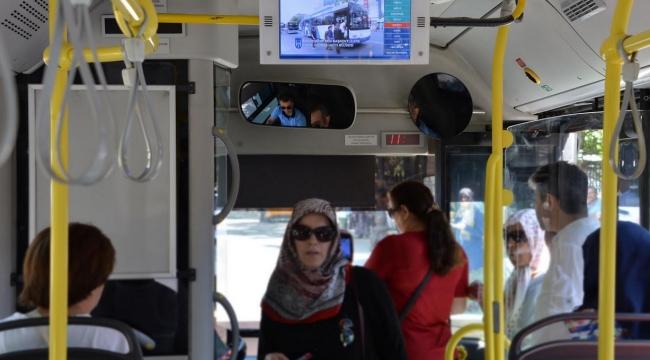 Ankara'da Toplu Taşımaya 7/24 Takip