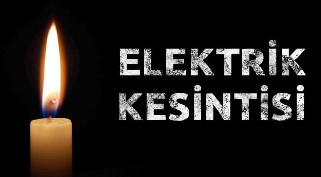 DİKKAT ELEKTRİK KESİNTİSİ! Salı Günü 13 İlçe 78 Mahallede Elektrik Yok