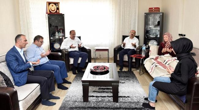 Polat ve Akgül'den 15 Temmuz Şehit Ailelerine Ziyaret