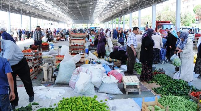 Pursaklar'da Üretici Pazarı Kuruluyor